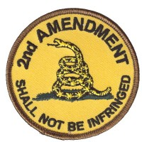 2nd Amendment round patch