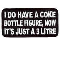 I do have a Coke bottle figure 3 Litre patch