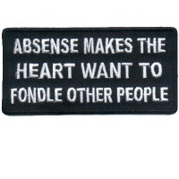 Absense makes the Heart want to fondle