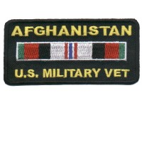 Afghanistan Veteran rect. patch