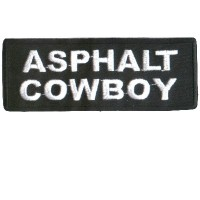 Asphalt Cowboy patch