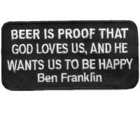 Ben Franklin Beer is Proof God Loves us