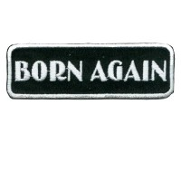 Born Again White Patch