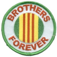 Brothers Forever Viet Nam Green Patch