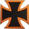 Choppers Cross Orange Lg