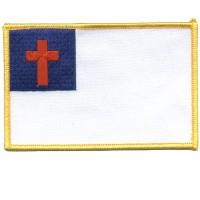 Christian Flag Back Patch