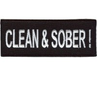 Clean & Sober patch