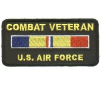 Combat Veteran US Air Force Patch