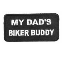 Dads Biker Buddy Patch
