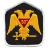 Masonic 32nd Degree Gold patch