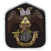 Masonic 32nd Degree Color patch