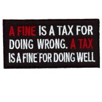 A FINE  - A TAX