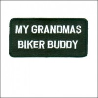 Grandmas Biker Buddy Patch