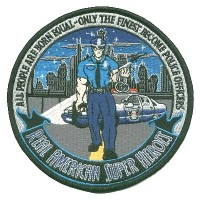 Hero Police Officers Lg Patch