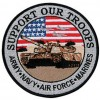 Hero Support Troops Tank Patch-lg