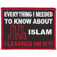 I Learned Everything on 9-11 patch