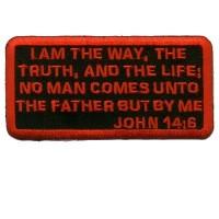 John 14-6 Patch