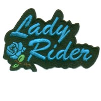 Lady Rider Blue Rose Small