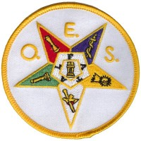 Order of The Eastern Star Patch