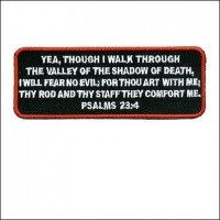 Psalms 23:4 Patch