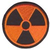 Radiation patch orange