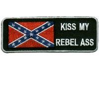 Kiss My Rebel patch