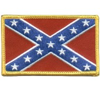 Rebel Flag Sm Patch