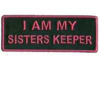 I am my Sisters Keeper hot purple patch