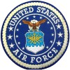 U.S. Air Force Back Patch