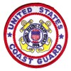US Coast Guard Round Patch