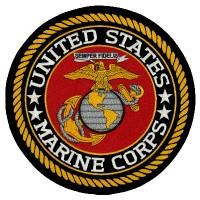 U.S. Marine back patch