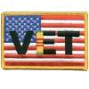 US Flag Viet Nam Vet Md Patch