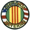 Vietnam Veteran Round Patch