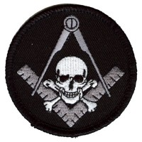 Widows Sons Skull Square patch