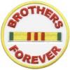 Brothers Forever gold Patch