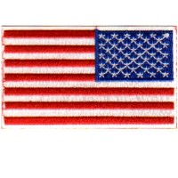 USA REVERSE FLAG-CUSTOM BORDER
