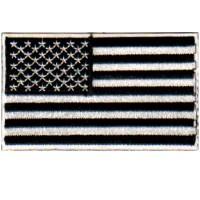 US FLAG - BLACK AND WHITE