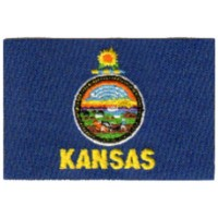 Kansas KS Flag