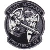 ST MICHAEL SUBDUED