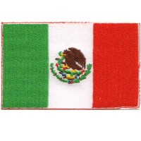 Mexico Flag - custom border