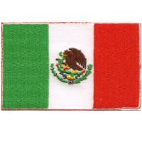 Mexico Flag - custom border
