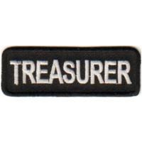 Black Treasurer patch