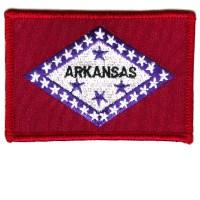 ARKANSAS FLAG CUSTOM BORDER