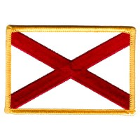 ALABAMA FLAG CUSTOM BORDER