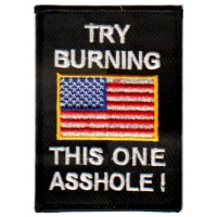 TRY BURNING THIS ONE-USA FLAG