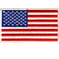 USA FLAG-CUSTOM BORDER