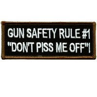 Gun Safety Rule #1