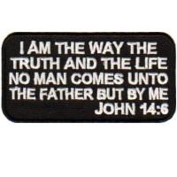JOHN 14-6   B & W