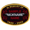 Custom Memory Ribbon Oval