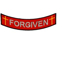 Forgiven Bottom Rocker Patch